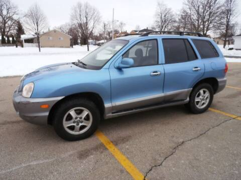 2003 Hyundai Santa Fe for sale at A-Auto Luxury Motorsports in Milwaukee WI