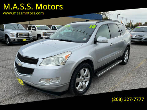 2010 Chevrolet Traverse for sale at M.A.S.S. Motors in Boise ID