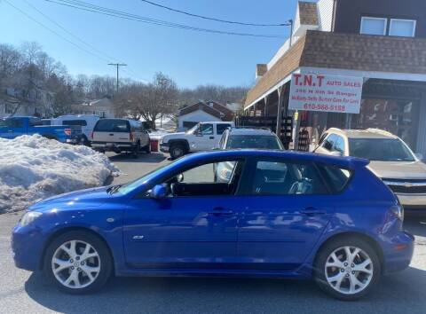 2008 Mazda MAZDA3 for sale at TNT Auto Sales in Bangor PA