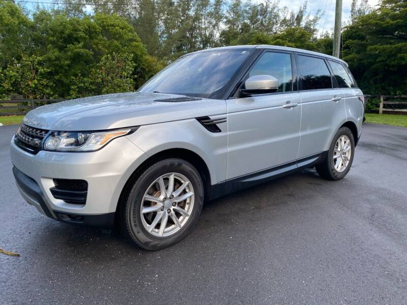 2016 Land Rover Range Rover Sport for sale at Ultimate Dream Cars in Wellington FL