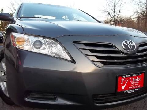 2007 Toyota Camry for sale at 1st Choice Auto Sales in Fairfax VA