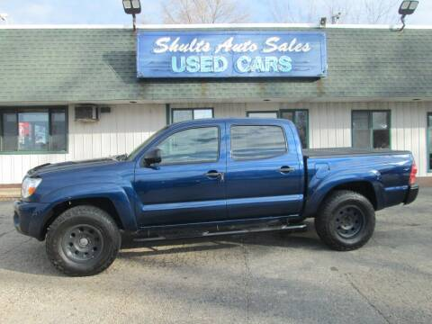 2008 Toyota Tacoma for sale at SHULTS AUTO SALES INC. in Crystal Lake IL
