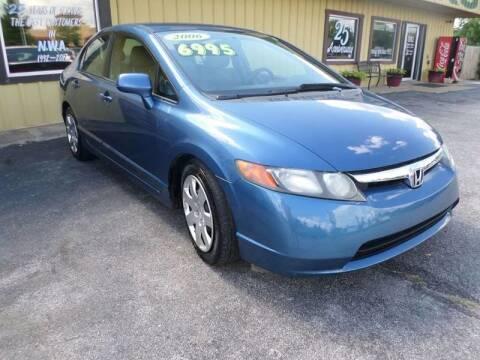 2006 Honda Civic for sale at Credit Cars of NWA in Bentonville AR