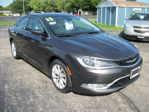 2015 Chrysler 200 for sale at USED CAR FACTORY in Janesville WI