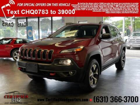 2014 Jeep Cherokee for sale at CERTIFIED HEADQUARTERS in Saint James NY
