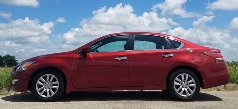2015 Nissan Altima for sale at Palmer Auto Sales in Rosenberg TX