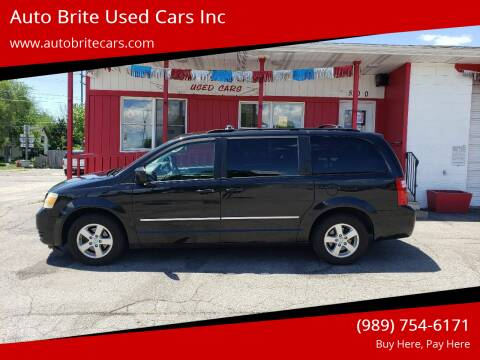 2010 Dodge Grand Caravan for sale at Auto Brite Used Cars Inc in Saginaw MI