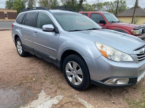2012 Subaru Outback for sale at PYRAMID MOTORS AUTO SALES in Florence CO