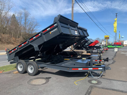 2021 Belmont DTX8114-14k Dump Trailer for sale at Smart Choice 61 Trailers in Shoemakersville PA