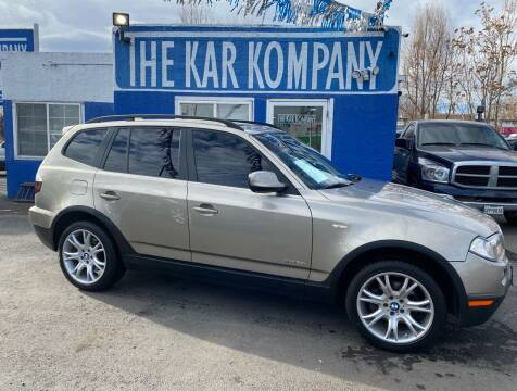 2010 BMW X3 for sale at The Kar Kompany Inc. in Denver CO