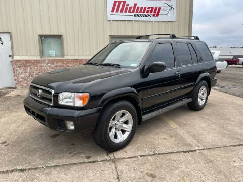 2002 Nissan Pathfinder for sale at Midway Motors in Conway AR