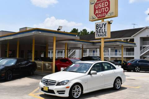 2012 Mercedes-Benz C-Class for sale at Houston Used Auto Sales in Houston TX
