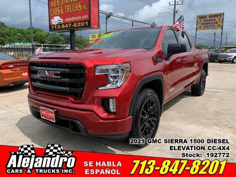 2021 GMC Sierra 1500 for sale at Alejandro Cars & Trucks Inc in Houston TX