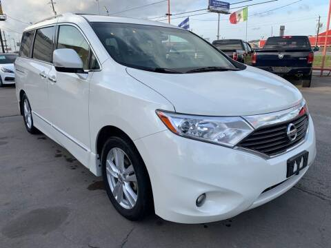 2013 Nissan Quest for sale at JAVY AUTO SALES in Houston TX