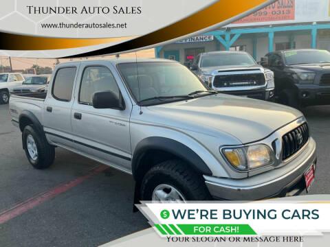 2002 Toyota Tacoma for sale at Thunder Auto Sales in Sacramento CA