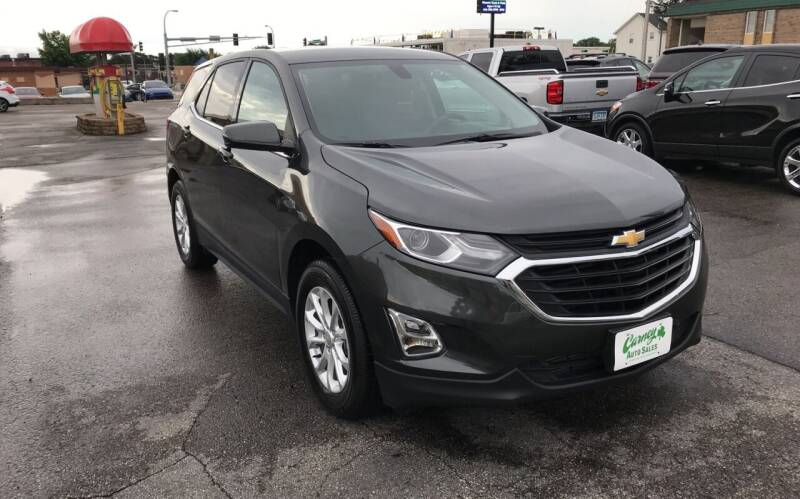 2018 Chevrolet Equinox for sale at Carney Auto Sales in Austin MN