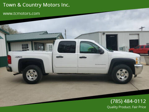 2012 Chevrolet Silverado 1500 for sale at Town & Country Motors Inc. in Meriden KS