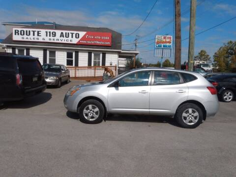 2008 Nissan Rogue for sale at ROUTE 119 AUTO SALES & SVC in Homer City PA