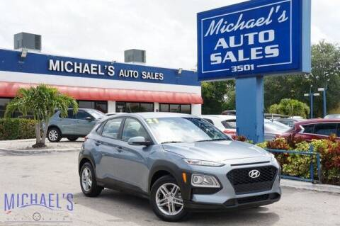 2021 Hyundai Kona for sale at Michael's Auto Sales Corp in Hollywood FL