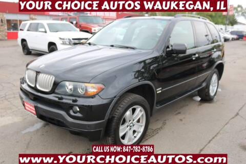 2005 BMW X5 for sale at Your Choice Autos - Waukegan in Waukegan IL