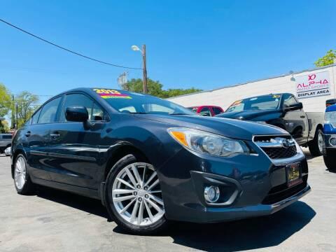 2013 Subaru Impreza for sale at Alpha AutoSports in Roseville CA