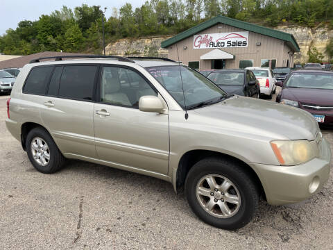 2003 Toyota Highlander for sale at Gilly's Auto Sales in Rochester MN