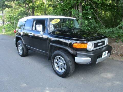 2013 Toyota FJ Cruiser for sale at MC FARLAND FORD in Exeter NH