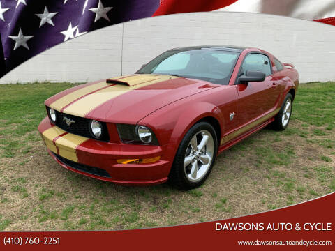 2009 Ford Mustang for sale at Dawsons Auto & Cycle in Glen Burnie MD