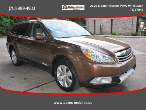 2011 Subaru Outback for sale at AUTOS-MOBILES in Houston TX
