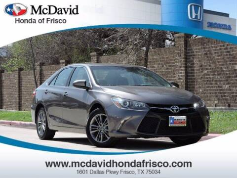 2017 Toyota Camry for sale at DAVID McDAVID HONDA OF IRVING in Irving TX