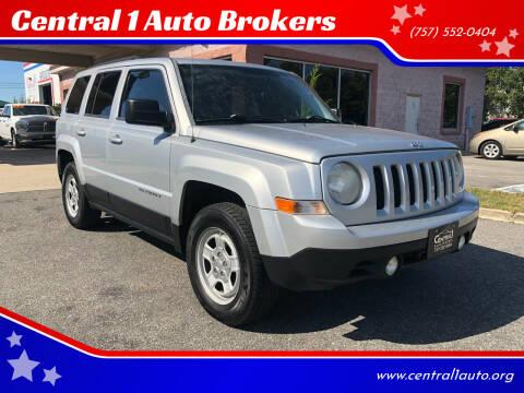 2012 Jeep Patriot for sale at Central 1 Auto Brokers in Virginia Beach VA