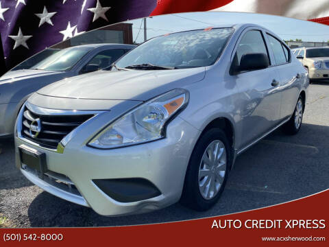 2015 Nissan Versa for sale at Auto Credit Xpress in North Little Rock AR