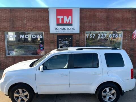 2010 Honda Pilot for sale at Top Motors LLC in Portsmouth VA