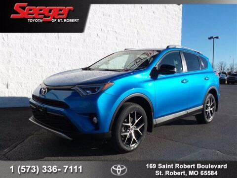 2016 Toyota RAV4 for sale at SEEGER TOYOTA OF ST ROBERT in St Robert MO