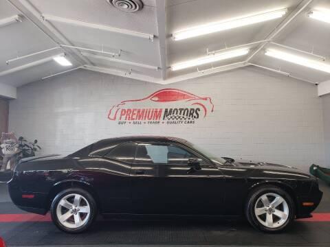 2014 Dodge Challenger for sale at Premium Motors in Villa Park IL