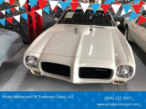 1973 Pontiac Firebird for sale at Pirate Motorcars Of Treasure Coast, LLC in Stuart FL