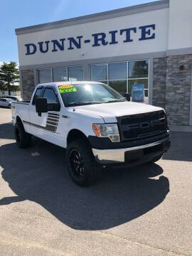 2014 Ford F-150 for sale at Dunn-Rite Auto Group in Kilmarnock VA