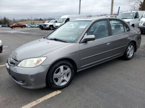 2005 Honda Civic for sale at Penn American Motors LLC in Allentown PA