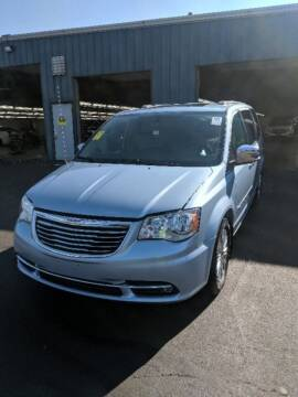 2016 Chrysler Town and Country for sale at Mancuso Country Auto in Batavia NY