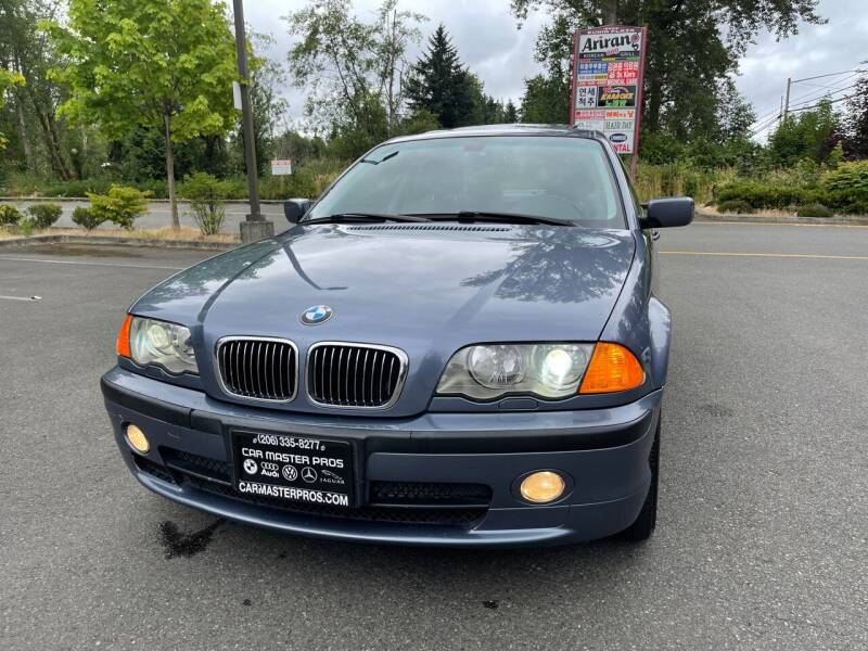 2001 BMW 3 Series for sale at CAR MASTER PROS AUTO SALES in Lynnwood WA