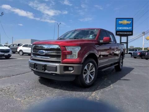 2015 Ford F-150 for sale at Strosnider Chevrolet in Hopewell VA