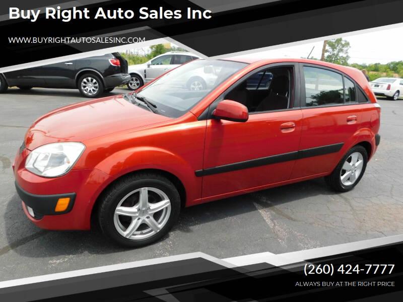 2009 Kia Rio5 for sale at Buy Right Auto Sales Inc in Fort Wayne IN