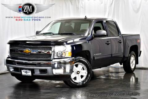2012 Chevrolet Silverado 1500 for sale at ZONE MOTORS in Addison IL