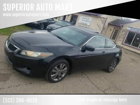 2008 Honda Accord for sale at SUPERIOR AUTO MART in Amelia OH