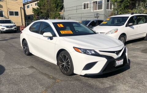 2018 Toyota Camry for sale at Eden Motor Group in Los Angeles CA