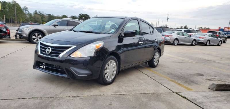 2015 Nissan Versa for sale at WHOLESALE AUTO GROUP in Mobile AL