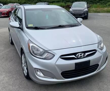 2012 Hyundai Accent for sale at Kingz Auto Sales in Avenel NJ
