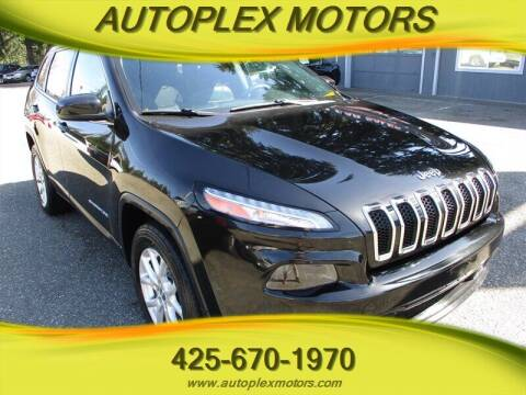 2015 Jeep Cherokee for sale at Autoplex Motors in Lynnwood WA
