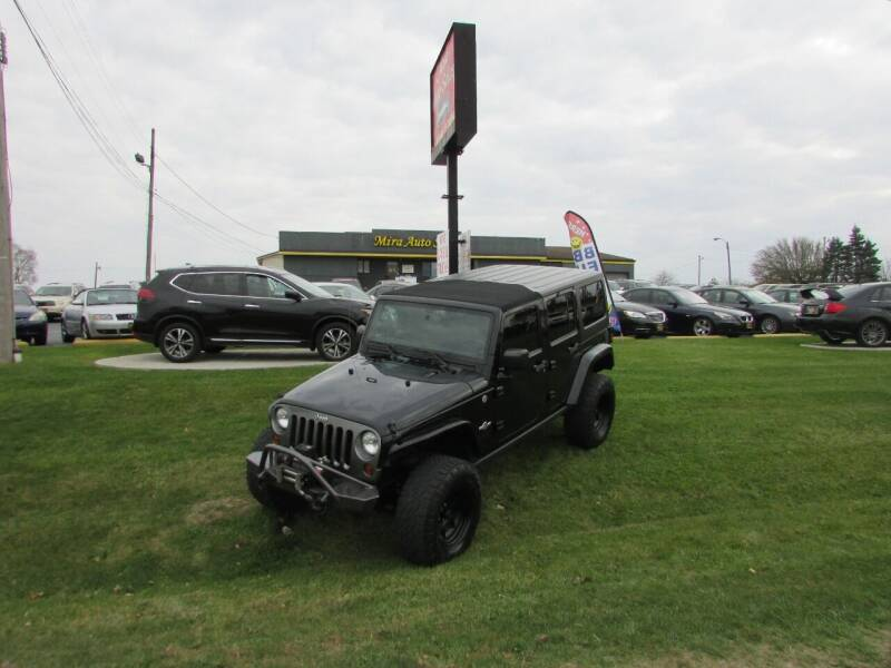 2013 Jeep Wrangler Unlimited for sale at MIRA AUTO SALES in Cincinnati OH