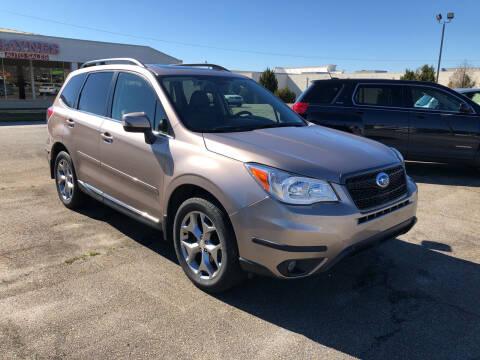 2016 Subaru Forester for sale at Haynes Auto Sales Inc in Anderson SC